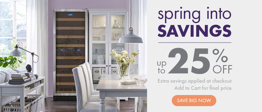 Spring into savings! 25% Off Sitewide Sale