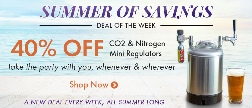 40% Off Mini Regulators