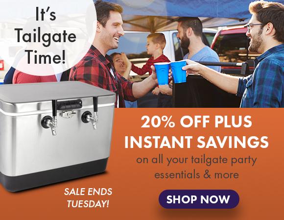Instant Savings plus 20% Off