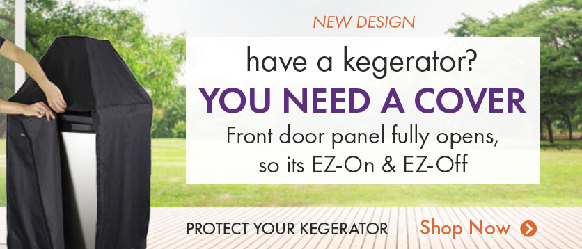 You Need a Kegerator Cover