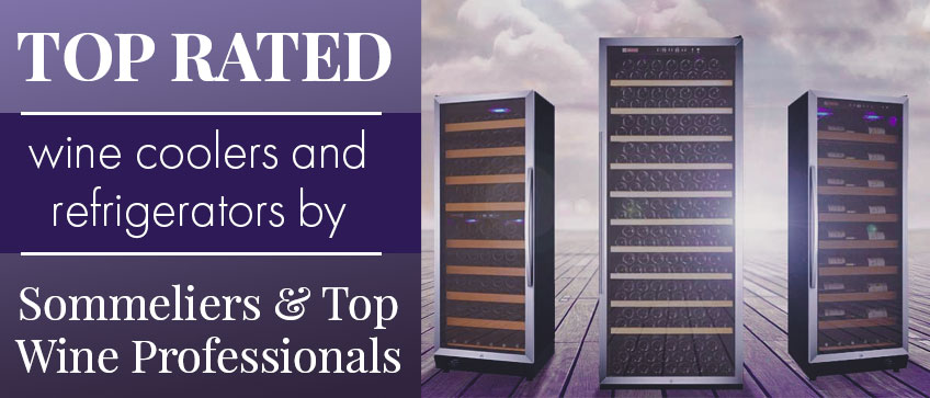 Top Rated Wine Coolers & Refrigerators By Sommeliers and Top Wine Professionals