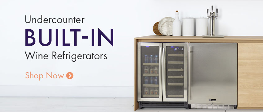 Undercounter Built In Wine Refrigerator