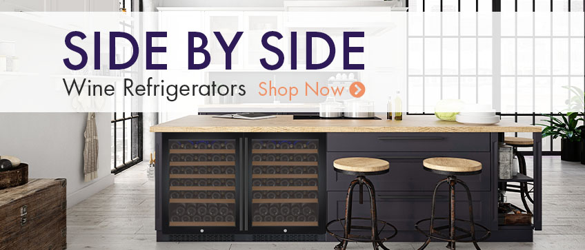 Side by Side Wine Refrigerators