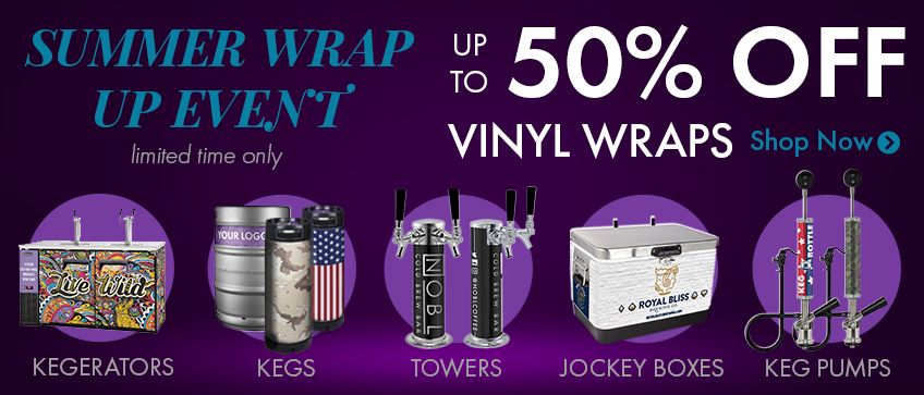 Summer Wrap Up Event - Up to 50% Off Vinyl Wraps