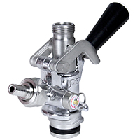 U System Keg Tap Coupler - Lever Handle