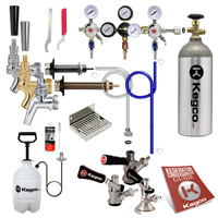 Custom Door Mount Kegerator Keg Tap Conversion Kit