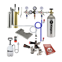Custom Single Tap Tower Kegerator Conversion Kit