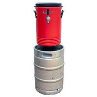 Kegco 50 Liter Single Tap Stainless Steel Jockey Box