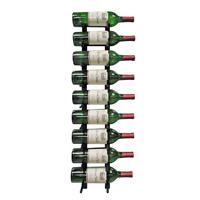 9 Bottle Modern Peg Wine Rack