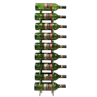 9 Bottle Modern Peg Wine Rack