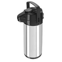 Pumpmaster Stainless Steel 3-Liter Thermal Coffee Carafe