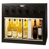 Monterey 6 Bottle Wine Dispenser Preservation Unit - Laminate