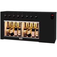 The Magnum 8 Bottle Wine Dispenser Preservation Unit - Laminate