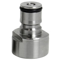 Sankey to Ball Lock Keg Coupler Adapter - Gas