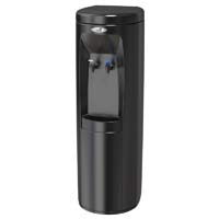 Hot 'N Cold Water Cooler - Black w/SS Reservoir