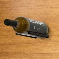 Vino Rails for Wood Surfaces - Anodized Black