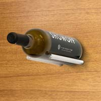 Vino Rails for Wood Surfaces - Milled Aluminum