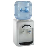 Tabletop Thermoelectric Cold and Room Temperature Water Dispenser - White