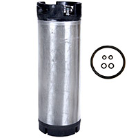 5 Gallon Pin Lock Keg - Reconditioned Beer Keg