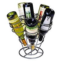 Bottle Bouquet Wine Rack- Gunmetal