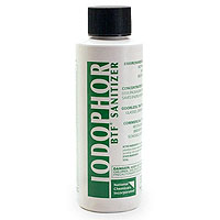 BTF Iodophor Sanitizer - 4 oz Bottle