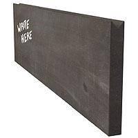 Chalkboard Menu Wall Board Plank - Black