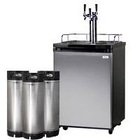 HBK209S-3 Triple Tap Draft Beer Dispenser
