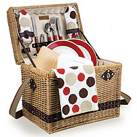 Picnic Time Yellowstone Moka Picnic Basket