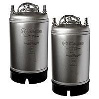 Kombucha Kegs - Ball Lock 3 Gallon Strap Handle - Brand New - Set of 2