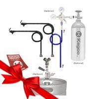 Standard Double Faucet Party Kegerator Conversion Kit