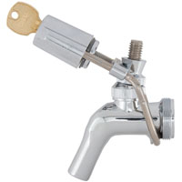 Wrap-Around Keg Beer Faucet Lock (for Perlick 600 Series Faucets)
