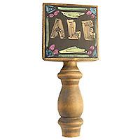 Black Dry Erase Board Beer Tap Handle
