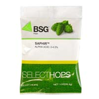 Saphir Hop Pellets - 1 oz Bag
