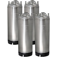 5 Gallon Ball Lock Keg - Strap Handle - Set of 4