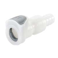 In Line Hose Barb Socket, Long Body