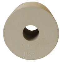 #6 Rubber Stopper - Drilled