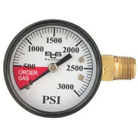High Pressure Replacement Gauge - Right Hand Thread