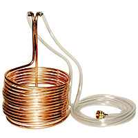 Copper Immersion Wort Chiller 50'