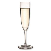 Riedel Vinum Champagne Flute Wine Glasses (Set of 6)
