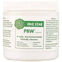 Five Star PBW Powdered Brewery Wash - 1 lb
