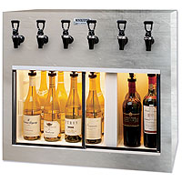Monterey 6 Bottle Wine Dispenser Preservation Unit - Special Laminate