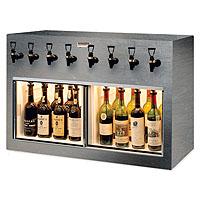 Monterey 8 Bottle Wine Dispenser Preservation Unit - Special Laminate