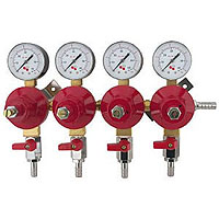 Premium Plus 4 Pressure / 4 Product CO2 Regulator