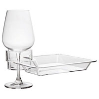 Acrylic Multi-Beverage Party Plate