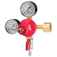 High Pressure Double Gauge Mixed Gas Primary Co2 Regulator