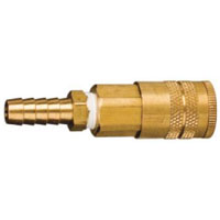 Brass Air Quick Disconnect Coupler - 3/8