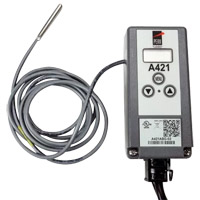 Inventory Reduction - Electronic Temperature Control with Single Power Cord and Piggyback Plug