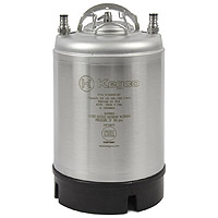 2.5 Gallon Ball Lock Keg - Strap Handle - NSF Approved