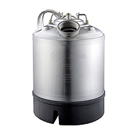 9 Liter Keg Beer Cleaning Can with Single Valve Port