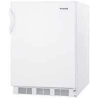 5.5 Cu. Ft. ADA All Refrigerator - White Cabinet & Solid Door